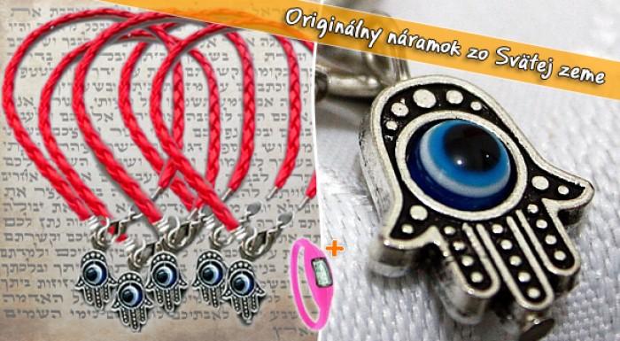 Kabbalah - originálny náramok zo Svätej zeme.