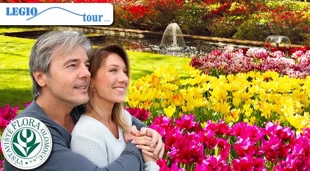 Jarný výlet na najväčšiu a najstaršiu výstavu kvetov v Čechách - FLORA Olomouc