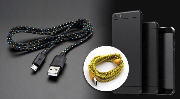 Nabíjací kábel pre váš mobil alebo tablet