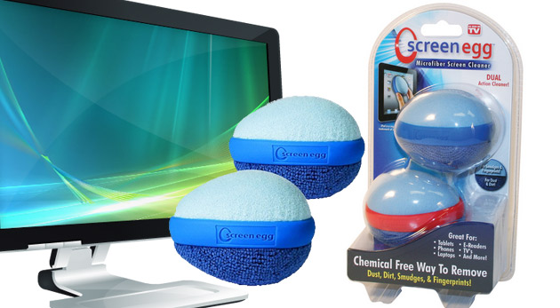 Screen Egg - multifunkčný čistič obrazoviek vašej elektroniky - 2 ks v balení