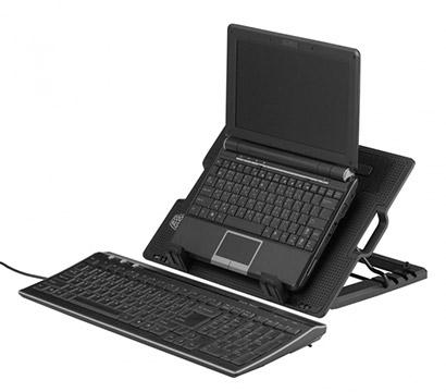 ergonomická chladiaca podložka pod notebook