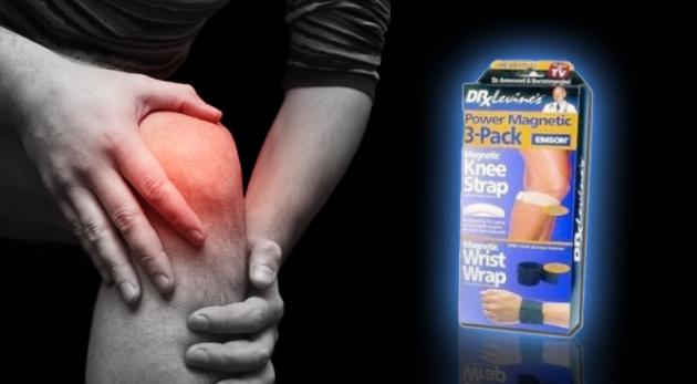Magnetické pásy Dr. Levina na kolená a zápästie
