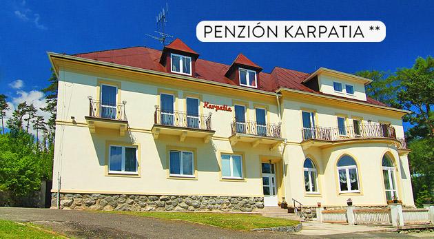 Skvelý 4-dňový relax v Penzióne Karpatia blízko Tatranskej Lomnice s polpenziou