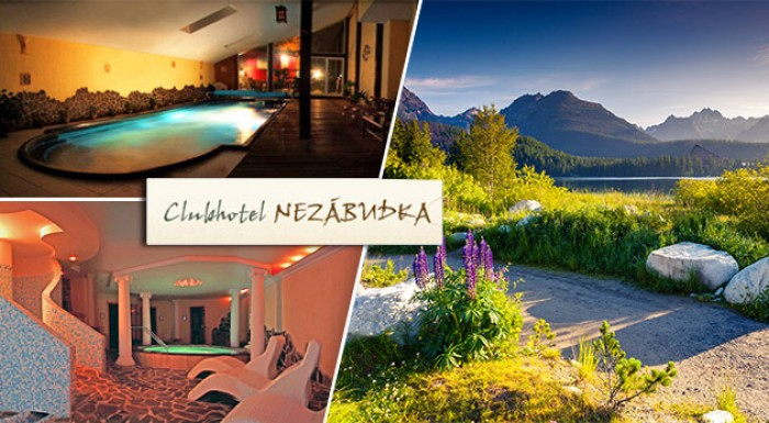 Wellness relax na 3 alebo 4 dni v Tatranskej Štrbe