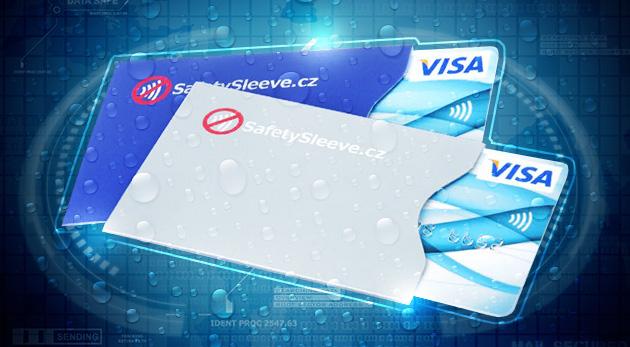 Bezpečnostný obal na bezkontaktnú bankomatovú kartu nedá zlodejom žiadnu šancu