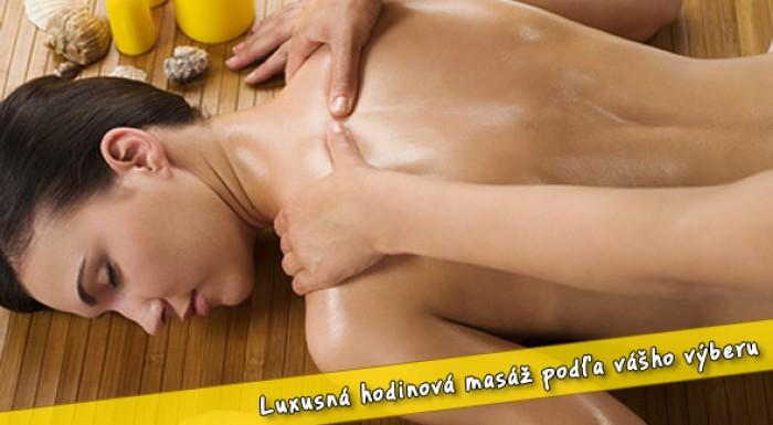 Nadštandardná masáž alebo permanentka na 5 vstupov na masáž.