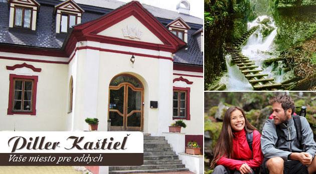 Penzión Piller Kaštieľ - jedinečný oddych v historickej budove na Spiši s polpenziou a wellness