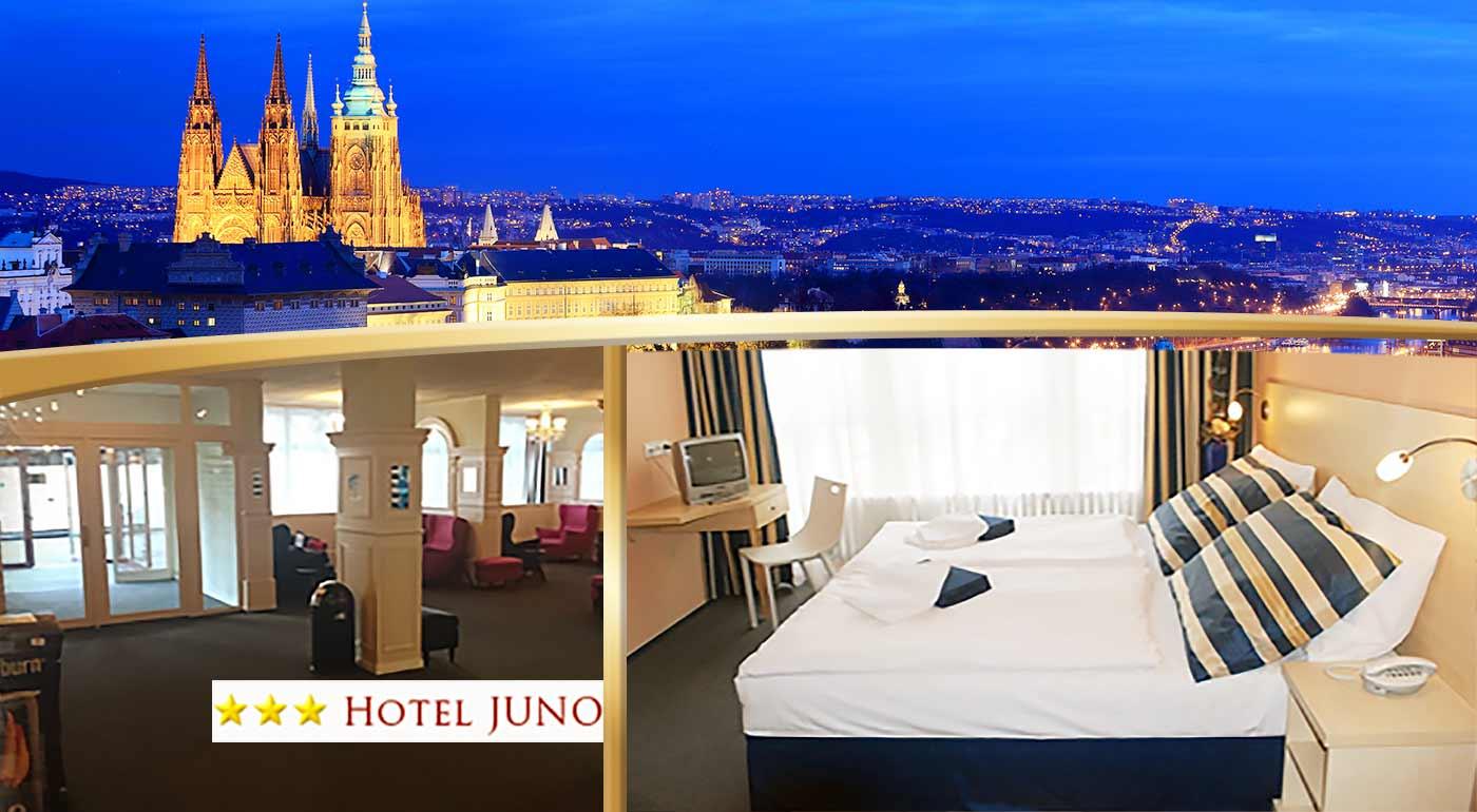 Fotka zľavy: Užite si Prahu v rámci pobytu v Hoteli Juno na skok do historického centra. Platnosť až do augusta 2017!