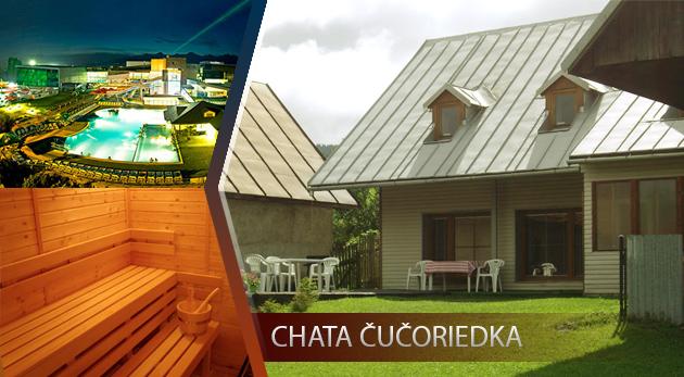 Chata Čučoriedka - úžasný relax pre 10 osôb uprostred panenskej prírody Nízkych Tatier