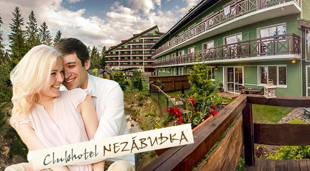 Leto vo vyhľadávanom Clubhoteli*** Nezábudka vo Vysokých Tatrách