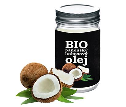 Bio kokosový olej Extra Virgin lisovaný za studena - 400 ml