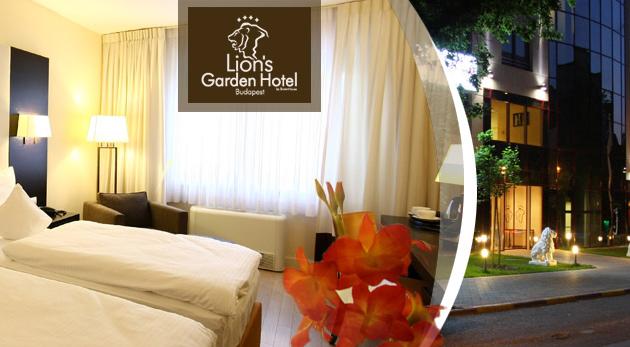 Úžasné 3 dni v maďarskej metropole v luxusnom Lion´s Garden Hotel**** s neobmedzeným wellness