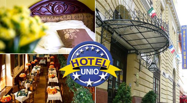 Nezabudnuteľné 3 dni v centre Budapešti - City Hotel Unio*** pre dvoch vrátane raňajok
