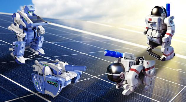Solárne stavebnice pre malých i veľkých - zábavná forma oboznámenia detí s fyzikálnymi zákonmi