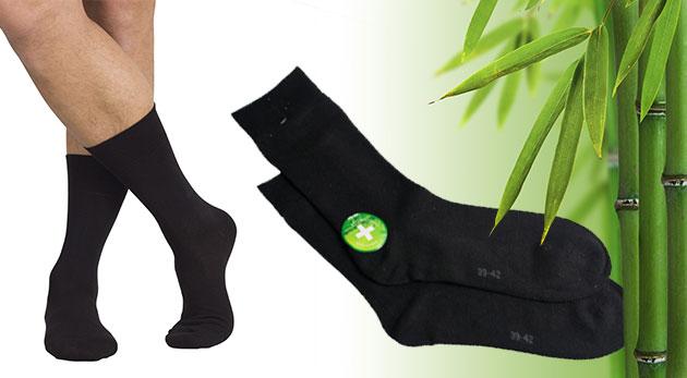 Bambusové ponožky - 6 alebo 12 párov pre maximálny komfort vašich nôh