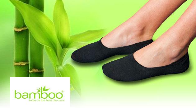Bambusové ponožky - nízky členkový strih vhodný do každej obuvi a skvelé antibakteriálne účinky