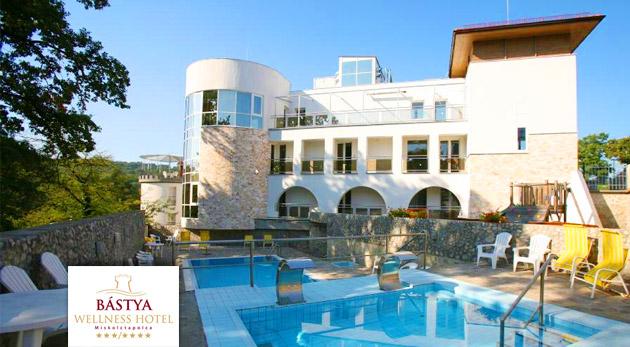 Bástya Wellness Hotel*** - 3 úžasné dni plné wellness oddychu v srdci kúpeľného mestečka Miskolctapolca