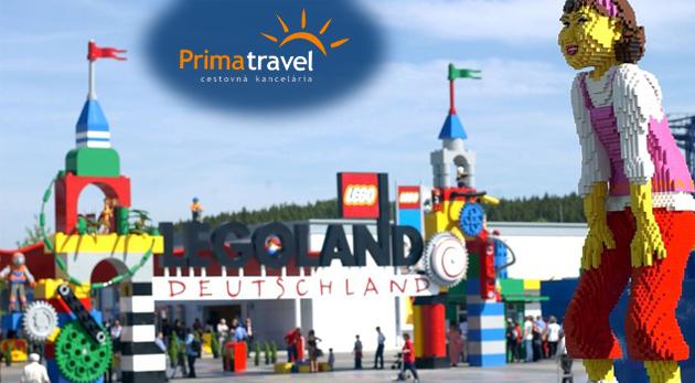 3-dňový zájazd do Legolandu pre 1 osobu za 59€: doprava autobusom, služby sprievodcu, poistenie insolventnosti CK