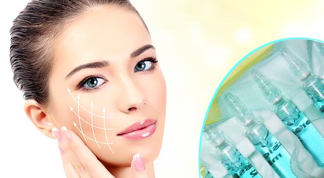 Botox bez ihiel - ampulková profesionála kúra na vyhladenie vrások na tvári