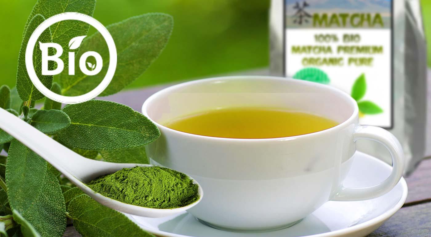 Zelený japonský čaj 100 % BIO MATCHA premium organic pure - superpotravina na všetko