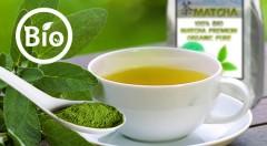 Zľava 52%: Spoznajte blahodarné účinky zeleného čaju cisárov a mníchov - 100% BIO MATCHA premium organic pure v 30 g balení iba za 5,99€ vrátane poštovného a balného.