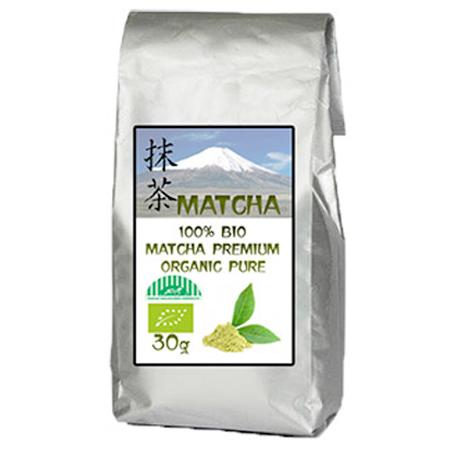 Zelený japonský čaj 100% BIO MATCHA premium organic pure - 30 g balenie vrátane poštovného a balného v rámci SR
