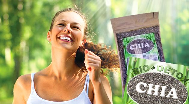 Chia semienka plné antioxidantov, bielkovín a vitamínov