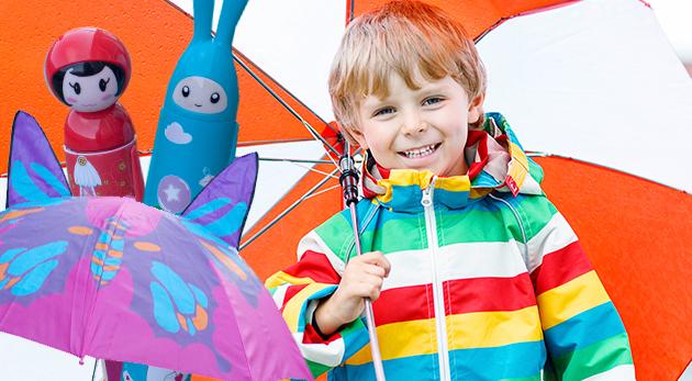 c4e8f28ec Detské dáždniky s veselými motívmi