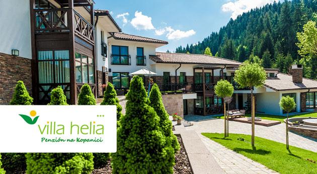 Penzión Villa Helia - dizajnové apartmány a privátny wellness počas 3 dní