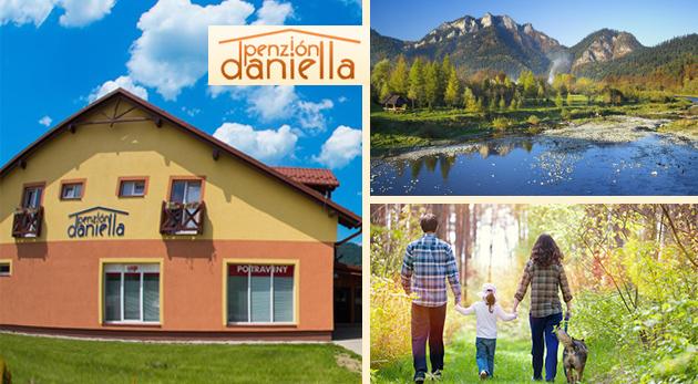 Spoznajte nádhernú prírodu a pamiatky Pienin a ubytujte sa v Penzióne Daniella