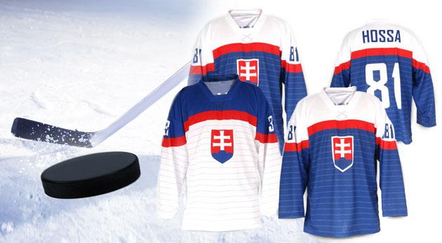 c52b4e351c4 Modrý autentický vyšívaný hokejový dres s možnosťou vytlačenia mena a čísla  za 49