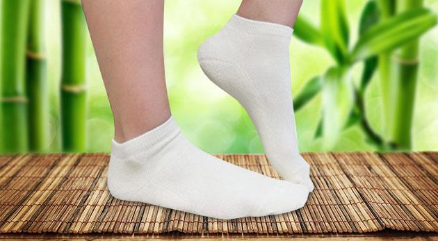 Bambusové ponožky pre dámy alebo pánov - v balení 3 alebo 6 párov