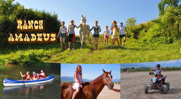 Westernový tábor pre deti počas letných prázdnin s neodolateľným programom