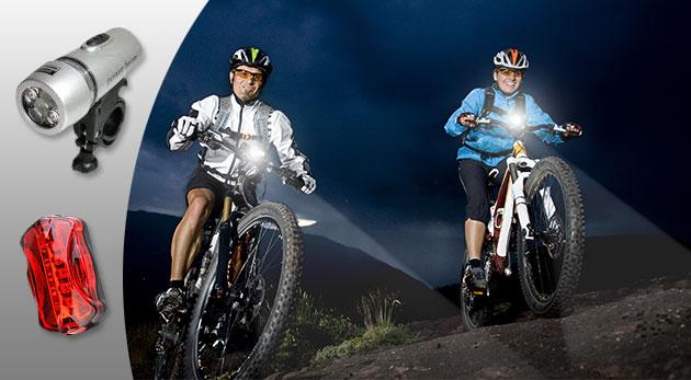 Osvetlenie na bicykel - nevyhnutnosť pre každého cyklistu