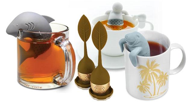 Milé sitká na čaj s hravým a originálnym dizajnom