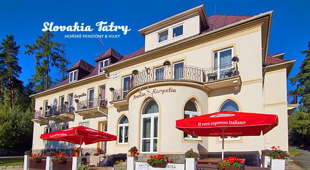 Načerpajte novú silu vo Vysokých Tatrách v Penzióne Karpatia
