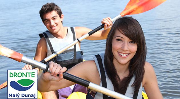 Splavujte Malý Dunaj na kanoe alebo katamaráne - na výber rôzne trasy