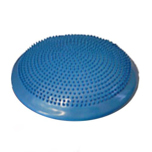 Masážny a balančný DISK 33 cm, farba modrá + ihla na nafukovanie