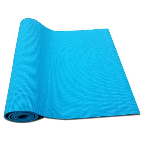 Podložka na cvičenie vrátane obalu, farba modrá