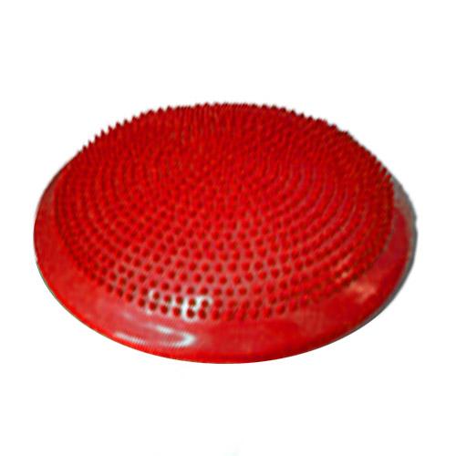 Masážny a balančný DISK 33 cm, farba červená + ihla na nafukovanie
