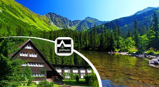 Očarujúca príroda Západných Tatier pre dvoch na 3 dni v Hoteli Primula s platnosťou až do 31.10.2015!