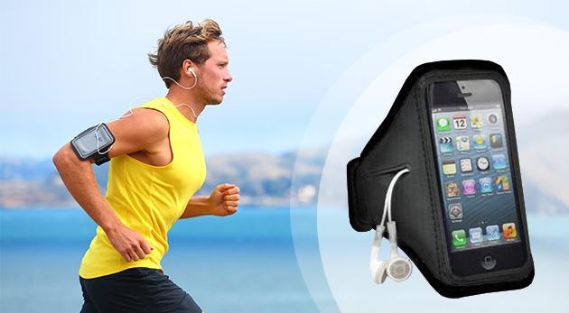 Puzdro na mobil alebo mp3 s pútkom na pripevnenie - praktická pomôcka nielen pre športovcov