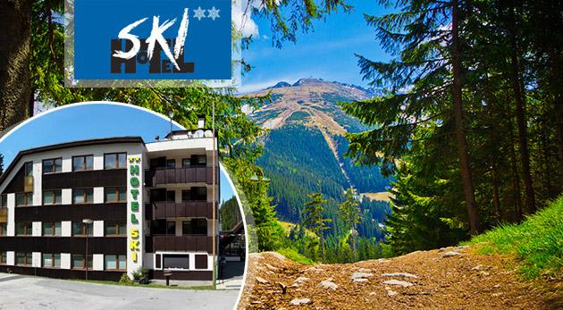 Dovolenka v Hoteli SKI v Demänovskej doline pre dvoch s polpenziou