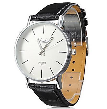 Pánske hodinky Quartz DALAS F 011 s čiernym remienkom