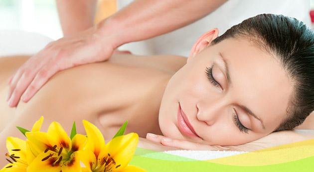 40-minútová masáž podľa výberu: klasická, detoxikačno-medová alebo reflexná masáž chodidiel