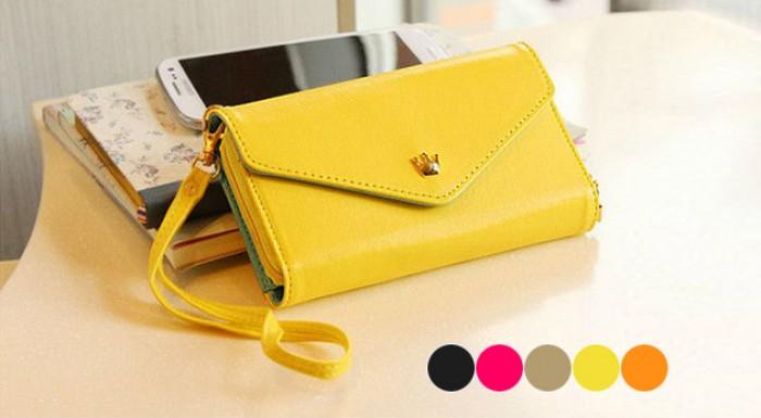 Minikabelka, peňaženka a puzdro na mobil v jednom