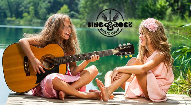 Letný detský hudobný tábor Sing And Rock pre deti
