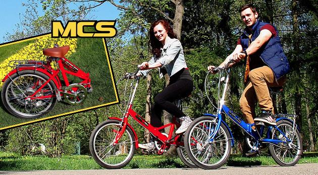 Praktické a štýlové skladacie bicykle do mesta