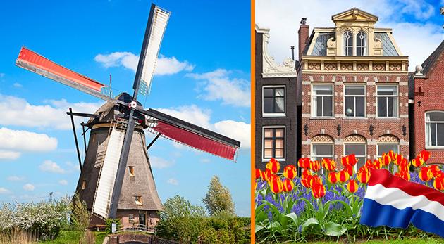 4-dňový zájazd do krajiny drevákov - Holandska