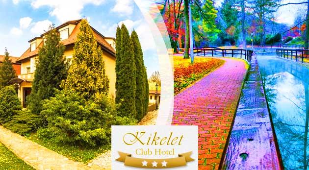 Relax plný wellness v Club Hoteli Kikelet*** pri známych maďarských jaskynných kúpeľoch v Miskolctapolca